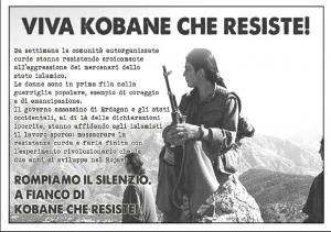 foto con kobane che resiste